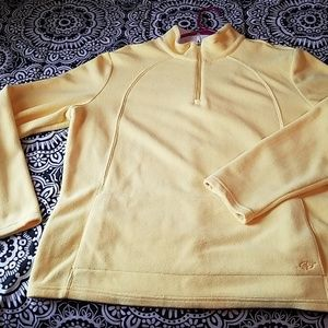 Sweaters - Bundle 2 for $15- Yellow 1/4 zip sweater